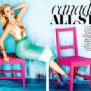 Elisha Cuthbert - Flare Magazine Pictorial [Canada] (July 2011)