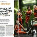 The Saturdays in some magazine scans and shoots