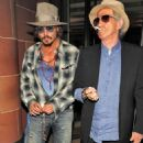 Johnny Depp & Keith Richards: London Lads