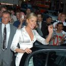 Rebecca Romijn - Leaving The Late Show 18 May 2006