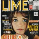 Britney Spears - Lime Magazine Cover [United Kingdom] (September 1999)