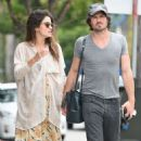 Nikki Reed with Ian Somerhalder out in Los Angeles - 454 x 761