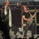 VETERAN ROCKERS VAN HALEN PERFORMED AT ROGERS ARENA MONDAY MAY 07, 2012 IN VANCOUVER