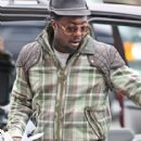 Will.I.Am at Vancouver Airport