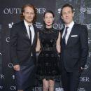 Sam Heughan, Caitriona Balfe and Tobias Menzies -  Starz Series 'Outlander' Premiere - Comic-Con International 2014