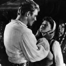 Eva Bartok and Burt Lancaster