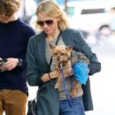 Naomi Watts is all smiles while out and about in New York City, New York with her mom Myfanwy Edwards Roberts on October 17, 2016 - 436 x 600