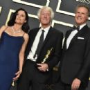 Julia Louis-Dreyfus, The winner Roger Deakins and Will Ferrell - 92nd Annual Academy Awards - Press Room (2020)