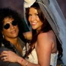 Slash and Perla Hudson Renew Their Vows in Spain
