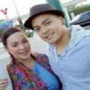 Leandro Muñoz and Claudine Barretto