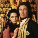 Catherine Zeta-Jones and Paul McGann