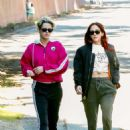 Kristen Stewart and Sara Dinkin – Out for a hike in Los Feliz