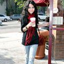 Vanessa Anne Hudgens Gets Her Daily Java Fix At Coffee Bean & Tea Leaf - Nov 20 2007