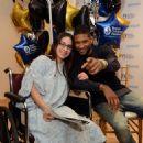 Usher at the Seacrest Studio Opening at Boston Children's Hospital November 14, 2014 in Boston, Massachusetts