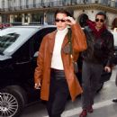 Bella Hadid – Out and about in Paris