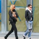 Kristen Stewart and Stella Maxwell out in New York City - 454 x 557