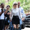 Lady Gaga – Leaves the studio in New York City