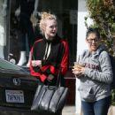 Elle Fanning in Tight Leggings out in LA