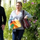 Hilary Duff out with ex husband in Los Angeles - 454 x 681