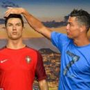 Cristiano Ronaldo, pictured with a waxwork model of himself at the CR7 museum, will miss the Super Cup