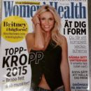 Britney Spears - Women's Health Magazine Cover [Sweden] (February 2015)