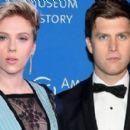 Scarlett Johansson and Colin Jost  -  Publicity - 454 x 273