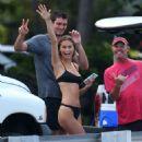 Lane Lindell in Black Bikini at the beach in Hawaii - 454 x 681