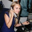 Annasophia Robb Annual Charity Day Hosted By Cantor Fitzgerald and Bgc In Nyc