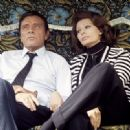 Sophia Loren and Richard Burton