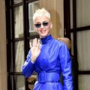 Katy Perry – Leaving Hotel Meurice in Paris