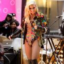 "Ke$ha: performance on the ""Today Show's"" live stage in New York City"