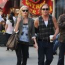 Mickey Rourke and Anastassija Makarenko
