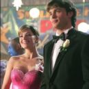 Smallville actors Tom Welling and Erica Durance Pictures - 395 x 600
