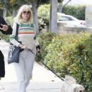 Alice Eve walks her dog in Los Angeles - 454 x 586