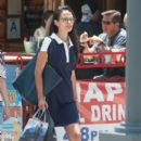 Jordana Brewster hits the town with a friend on July 10, 2016 - 399 x 600