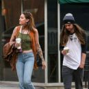 Paris Jackson and boyfriend Gabriel Glenn on a coffee run in West Hollywood - 454 x 681