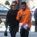 Bella Hadid and The Weeknd – Out and about in NYC
