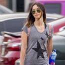 Megan Fox in Tights – Shhopping in New Orleans