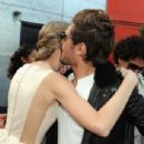 "Taylor Swift and Zac Efron were seen walking the orange carpet premiere of ""Dr. Seuss' The Lorax"", it was held at February 19, at Universal Studios Hollywood in Universal City.  They were cuddling up with their fellow costar, the Lorax"