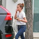 Millie Bobby Brown – Leaving a Cafe in Los Angeles