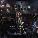 Steven Tyler performs at the 2017 celebrity fight night in Italy  on September 8, 2017 in Rome - 454 x 303