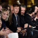 Paul McCartney and Alasdhair Willis attend the Stella McCartney show as part of the Paris Fashion Week Womenswear Fall/Winter 2015/2016 on March 9, 2015 in Paris, France.