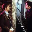 Matthew Perry and Oliver Platt in Warner Brothers' Three To Tango - 10/99