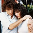 Isabelle Adjani and Alain Souchon