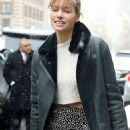 Jessica Hart Attends At Tory Burch Fashion Show In Nyc