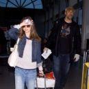 Eliza Dushku and Rick Fox