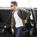 Joe Jonas seen at LAX