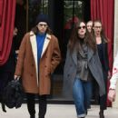 Keira Knightley and James Righton at the L' Reserve hotel in Paris - 454 x 593