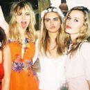 Suki Waterhouse, Cara Delevingne and Georgia May Jagger - 454 x 454