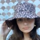 Emily Ratajkowski in Swimsuit and a Hat – Instagram